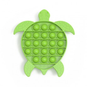 Les POP IT !  - Jouet Bulle Anti-Stress Jouets Adultes Enfants Jouet Sensoriel Pour Soulager L'autisme - Tortue verte