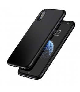 Coque iPhone X Baseus Protection TPU + TPE Dropproof Noir