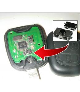 Réparation bouton de clé plip form x1