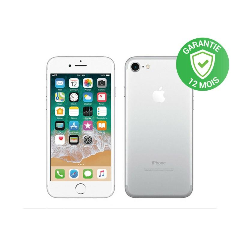 Apple iPhone 7 - 32Go - Argent - RECONDITIONNÉ et DÉBLOQUÉE