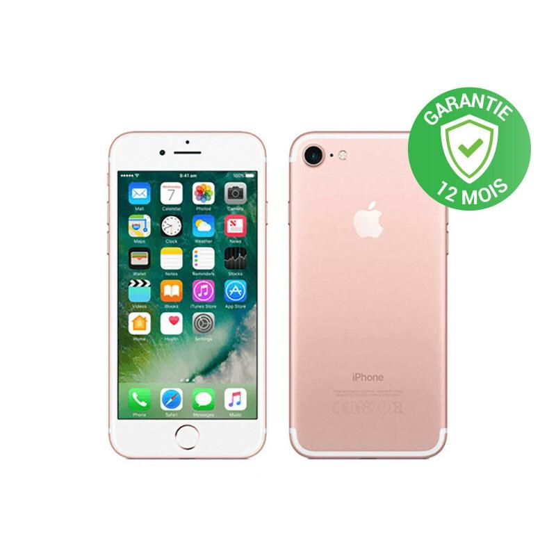 Apple iPhone 7 - 128Go - Rose - RECONDITIONNÉ et DÉBLOQUÉE (copie)