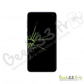 Réparation écran Samsung Galaxy S10e SM-G970 vitre Amoled et chassis