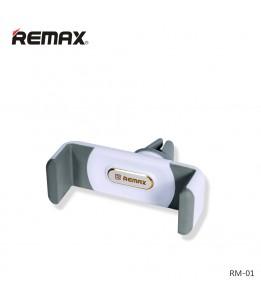 Support smartphone auto ROCK grille de ventilation Gris