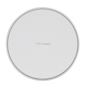 KD1 Ultrathin 10W normal de charge Chargeur sans fil (Blanc)