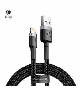 Cable Baseus Lighting USB 3 mètre MFI 2A tréssé