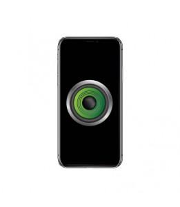 Réparation Haut parleur oreille Apple iPhone X avec nappe detecteur de proximité.