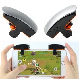 Bouton de jeu smartphone épaisseur de 6,76 à 11,25mm connection physique ou Bluetooth