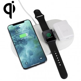 Chargeur sans fil QI pour iPhone & Airpods & Apple Watch